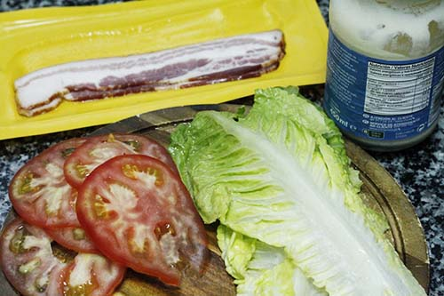 ingredientes del sandwich blt